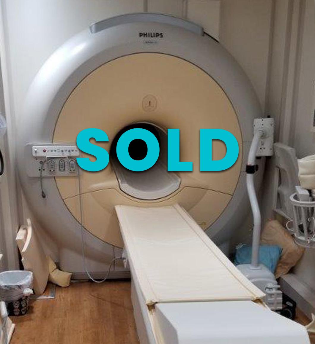 2014 Diamond Select Philips Achieva 1.5 16 Channel Mobile MRI